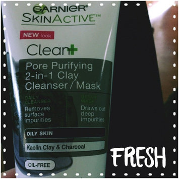 Garnier® SkinActive™ Clean+ Pore Purifying 2-in-1 Clay Cleanser/Mask for Oily Skin 5 fl. oz. Tube uploaded by Savannah F.