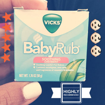 Photo of Vicks Baby Rub Soothing Ointment uploaded by Latasha P.