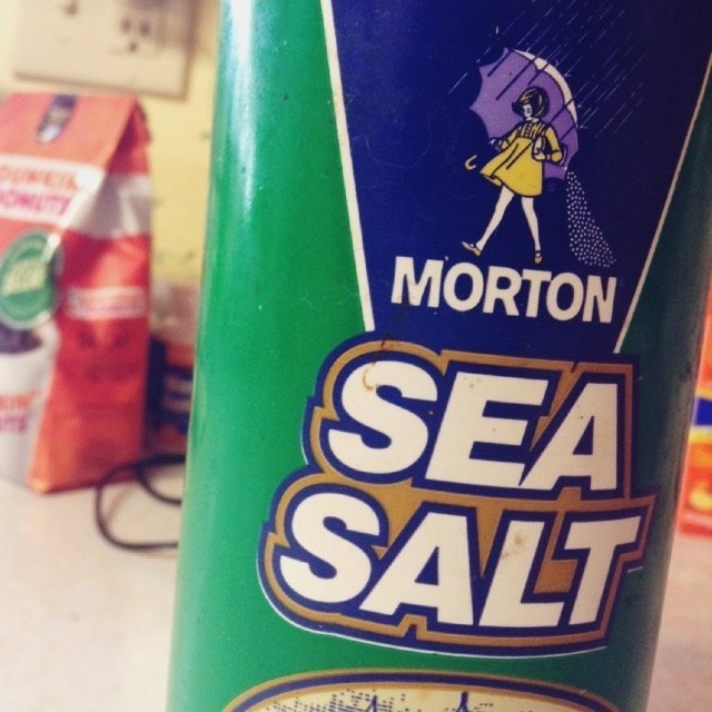 Morton Natural Sea Salt uploaded by Kara K.