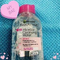 Garnier Skinactive Micellar Cleansing Water All-in-1 Makeup Remover & Cleanser 3 oz uploaded by Bianca R.