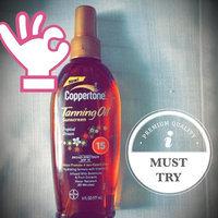 Coppertone® Tropical Breeze Tanning Oil Broad Spectrum SPF 15 Sunscreen 6 fl. oz. Spray Bottle uploaded by Glenda M.