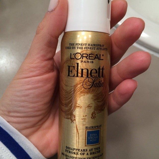 L'Oréal Elnett Satin Hairspray uploaded by Emily R.