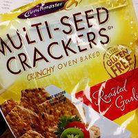 Crunchmaster Multi-Seed Crackers Roasted Garlic uploaded by Diane N.