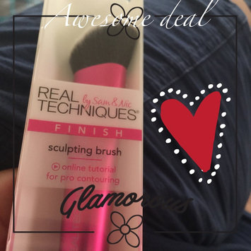 Photo of Head Real Techniques Sculpting Makeup Brush uploaded by Evangelina P.