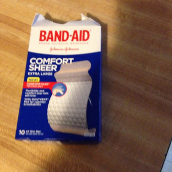 Photo of Band-Aid Adhesive Bandages Sheer Strips Extra Large - 10 CT uploaded by Deana C.