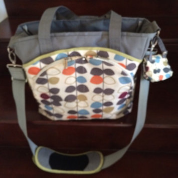 Photo of JJ Cole Mode Diaper Tote Bag, Mixed Leaf (Discontinued by Manufacturer) uploaded by Vanessa V.