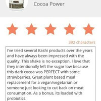 Kashi GOLEAN Dark Cocoa Power uploaded by Heather M.