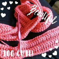Red Heart Super Saver Yarn-Flamingo uploaded by Monica G.