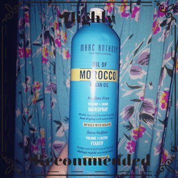 Marc Anthony True Professional Oil of Morocco Argan Oil Hair Spray uploaded by Lacey F.