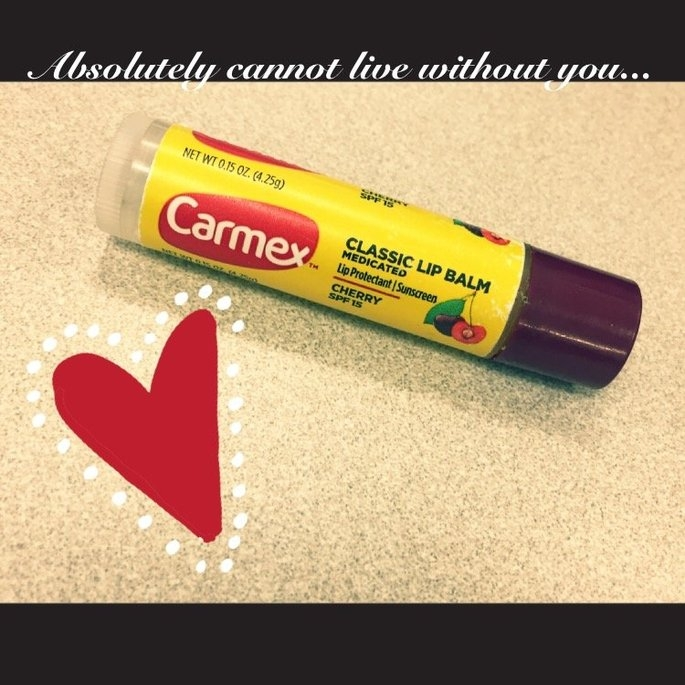 Carmex Moisturizing Lip Balm Stick SPF 15 uploaded by Jessica H.