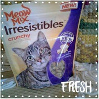 Meow Mix Irresistibles Crunchy White Meat Chicken & Turkey Cat Treats, 2.5-Ounce uploaded by Carrie S.