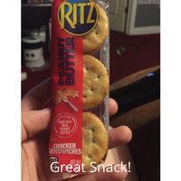 Nabisco RITZ Bits Peanut Butter Cracker Sandwiches uploaded by Amber P.