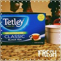 Tetley Decaffeinated Classic Black Tea - 72 CT uploaded by Delalia F.