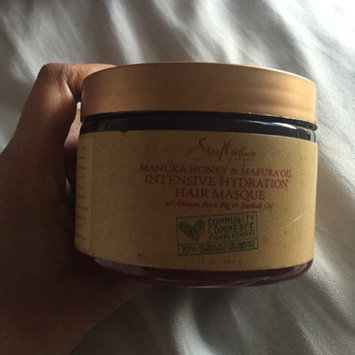 SheaMoisture Manuka Honey & Mafura Oil Intensive Hydration Hair Masque uploaded by Shaqueen M.