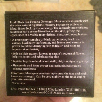 Photo of fresh Black Tea Firming Overnight Mask uploaded by Katie L.