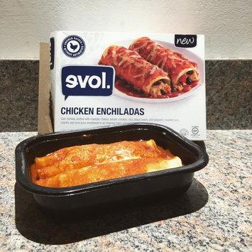 Evol. Chicken Enchiladas 9.74 oz. Box uploaded by Jenna K.