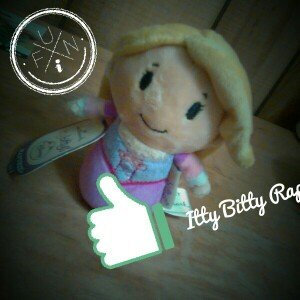 Hallmark Itty Bittys Disney Princess Rapunzel uploaded by JILL H.