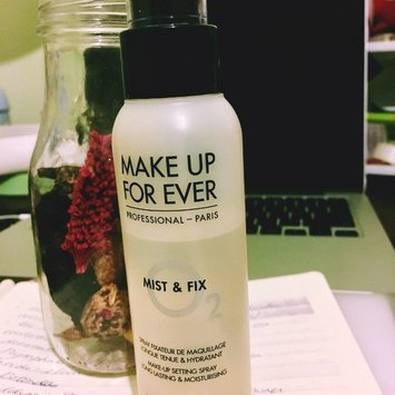 MAKE UP FOR EVER Mist & Fix Setting Spray uploaded by Qiu X.