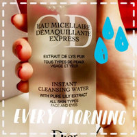 Dior Instant Cleansing Water for All Skin Types uploaded by Michelle L.