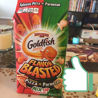 Pepperidge Farm Goldfish Mix-Up Adventures Parmesan & Xplosive Pizza Baked Snack Crackers uploaded by Jessica T.