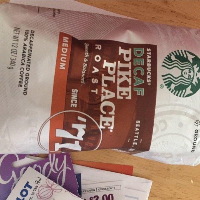 Starbucks Coffee Pike Place Medium Roast Coffee Beans uploaded by Karri M.