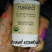 North Coast Organics - All Natural Deodorant Travel Size Naked - 0.35 oz. uploaded by Brenda D.