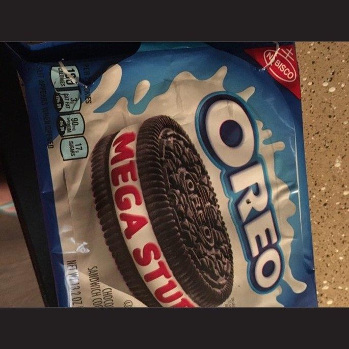 Oreo Mega Stuf Sandwich Cookies uploaded by Lucia G.