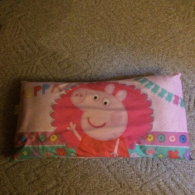 Peppa Pig Micromink/Microfiber Body Pillow uploaded by Brianna P.