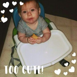 Photo of Fisher-Price Healthy Care Deluxe Booster Seat uploaded by Chaleena S.