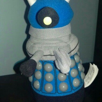 Photo of Underground Toys LLC Dr. Who Blue Dalek 9 inch Plush uploaded by Cheryl R.
