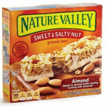 Nature Valley Sweet & Salty Nut Granola Bars Almond uploaded by Yadilka V.
