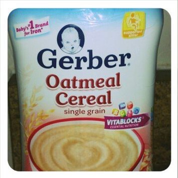 Photo of Gerber® Single Grain Baby Cereal | Oatmeal uploaded by Chelsea S.