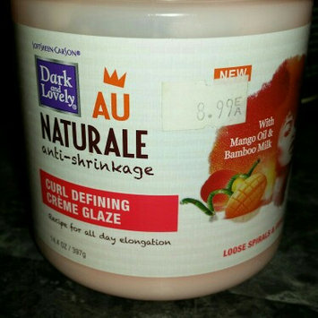 Photo of Dark and Lovely AU Naturale Anti-Shrinkage Curl Defining Creme Glaze uploaded by Theresa B.