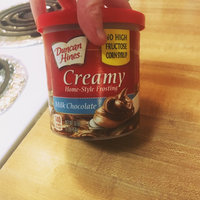 Duncan Hines Creamy Home-Style Milk Chocolate Frosting uploaded by Teran F.