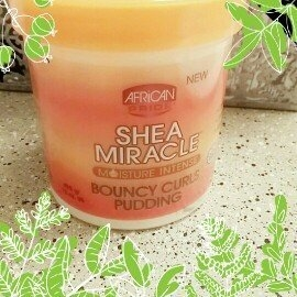 African Pride Shea Butter Miracle Bouncy Curls Pudding  uploaded by Salone A.