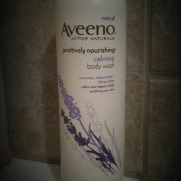 Aveeno Positively Nourishing Calming Body Wash uploaded by Brandi  .