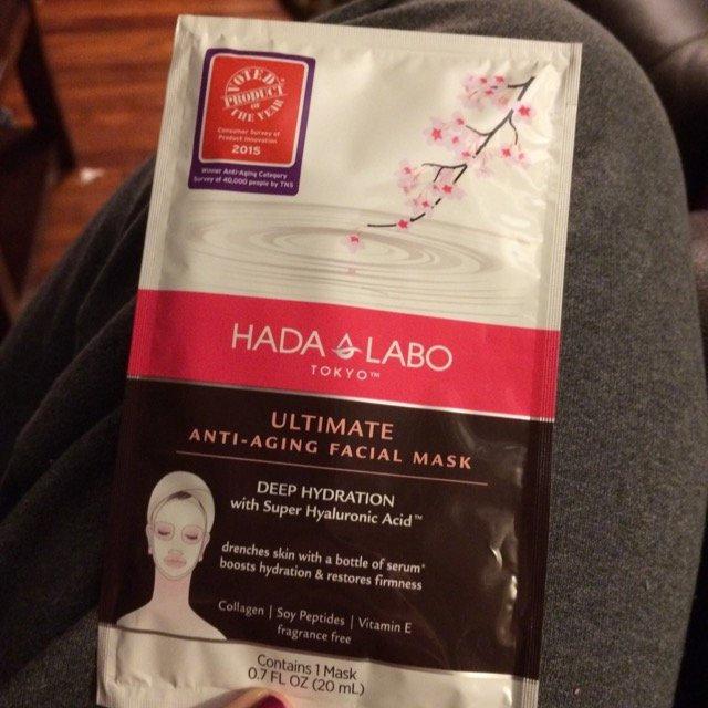 Hada Labo Tokyo Ultimate Anti-Aging Facial Mask, .7 fl oz