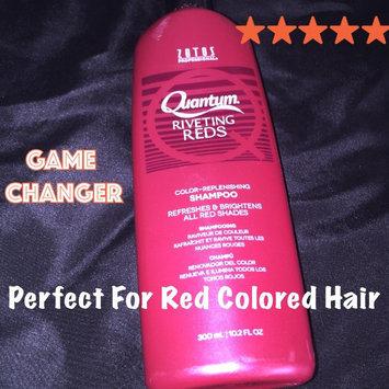 Photo of Zotos Quantum Shampoo Riveting Reds 10.2 oz uploaded by Kiara N.