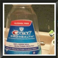 Crest Pro-Health Multi-Protection Refreshing Clean Mint Flavor Mouthwash 1 L uploaded by Fabiola D.
