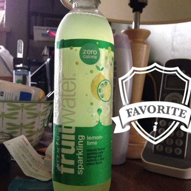 Glaceau Fruit Water Sparkling Zero Calorie Lemon-Lime uploaded by Kristin  Y.