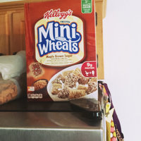 Kellogg's Frosted Mini-Wheats Maple Brown Sugar Cereal uploaded by Krystal B.