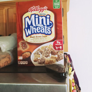 Photo of Kellogg's Frosted Mini-Wheats Maple Brown Sugar Cereal uploaded by Krystal B.