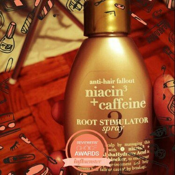 Photo of OGX® Niacin3 & Caffeine Root Stimulator Spray uploaded by Morenike K.