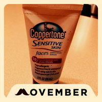 Coppertone Faces Sensitive Skin Suncreen Lotion uploaded by Piper R.