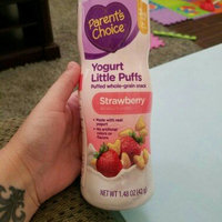 Parent's Choice Yogurt Little Puffs Strawberry Puffed Whole Grain Snack, 1.48 oz uploaded by Bobbie Jo S.