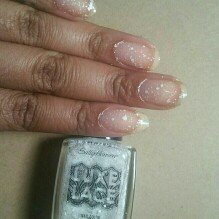 Photo of Sally Hansen Luxe Lace Nail Color uploaded by Dominique D.