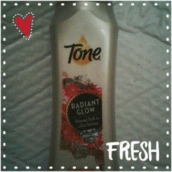 Tone® Radiant Glow Diamond Dust & Lotus Blossom Illuminating Body Wash 16 fl. oz. Bottle uploaded by Kathy H.