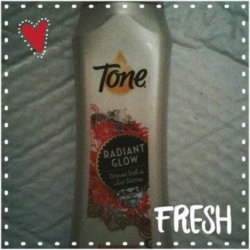 Photo of Tone® Radiant Glow Diamond Dust & Lotus Blossom Illuminating Body Wash 16 fl. oz. Bottle uploaded by Kathy H.