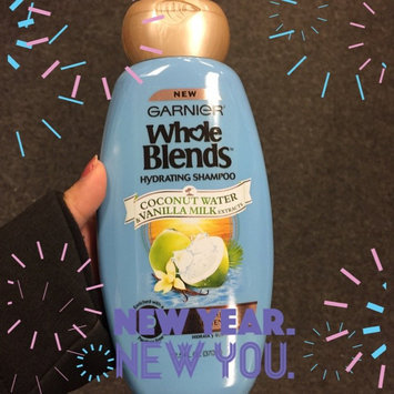 Garnier® Whole Blends™ Coconut Water & Vanilla Milk Extracts Hydrating Shampoo 12.5 fl. oz. Bottle uploaded by Lex B.