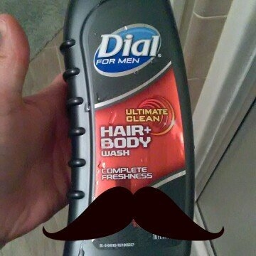 Dial for Men, Ultimate Clean Hair & Body Wash, 21-Ounce Bottles (Pack of 3) uploaded by Tiffany R.